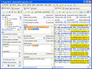 PowerGrep Screenshot